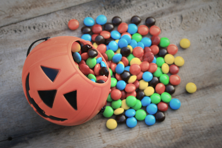 candy chocolate halloween Archivio Fotografico