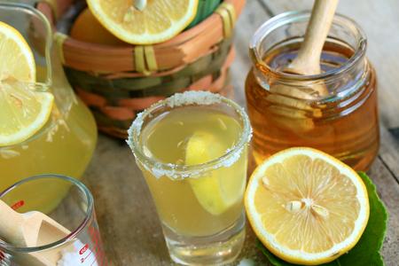lemon juice Archivio Fotografico