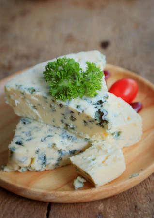 perejil: queso azul con perejil