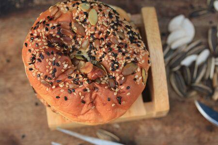 christmas baker's: Whole wheat bread yule
