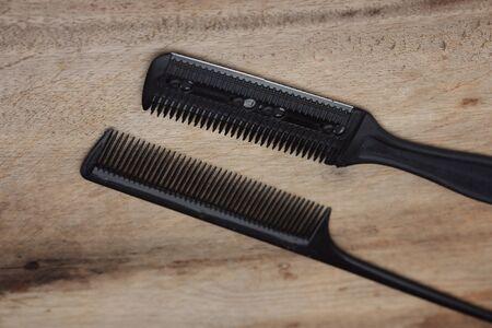 shears: Total hair cutting shears Stock Photo
