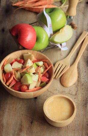 green apples: salad fresh apple fruit