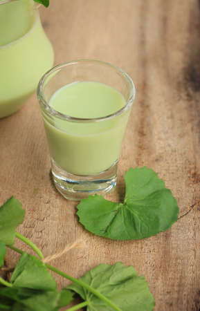 asiatic: The asiatic with soybean milk