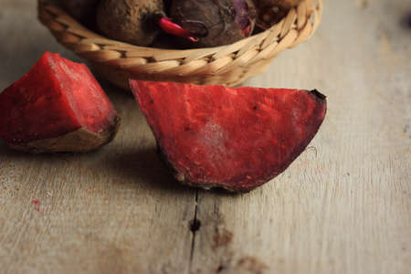 betabel: fresh beetroot