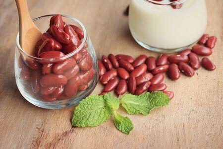 yogurt with red bean