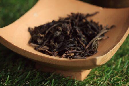 japanese tea garden: hot tea and sakura