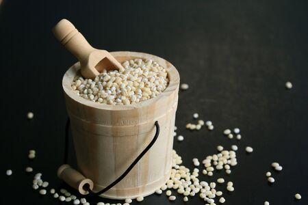 heap: a heap barley seed