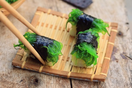 Seaweed sushi - Japanese food