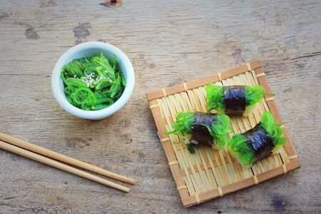 algal: Seaweed sushi - Japanese food