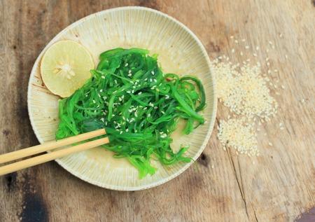 algal: Seaweed salad - Japanese food