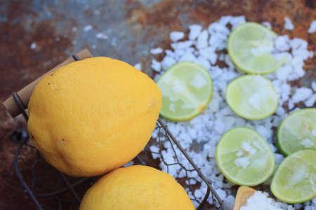 Sea salt with lemon