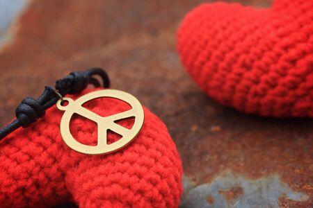 idealistic: peace symbol