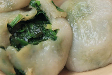 chives: fried garlic chives dumpling