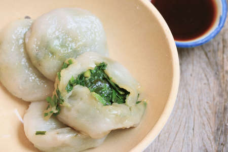 cebollin: fried garlic chives dumpling