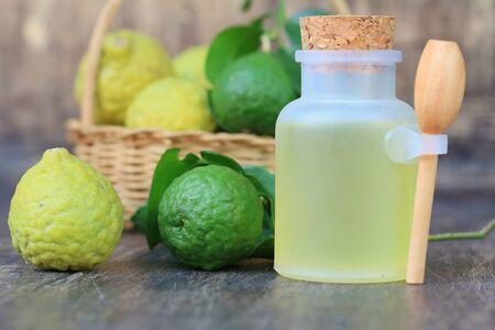 fresh kaffir lime oil