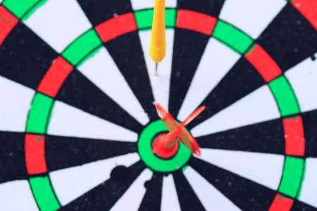 throw darts Stock Photo
