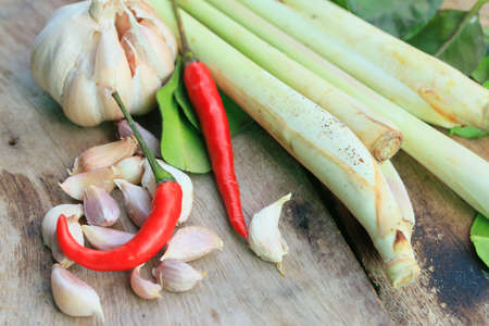 mix spicy cooking - Thailand food Stock Photo