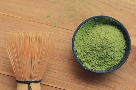 maccha: Matcha green tea powder