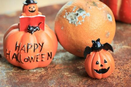 rot: orange rot halloween day Stock Photo