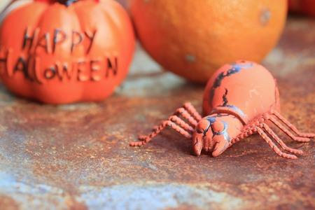 orange rot halloween day Stock Photo