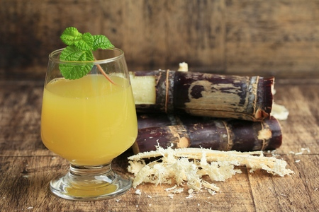 treacle: Cane juice with molasses Stock Photo