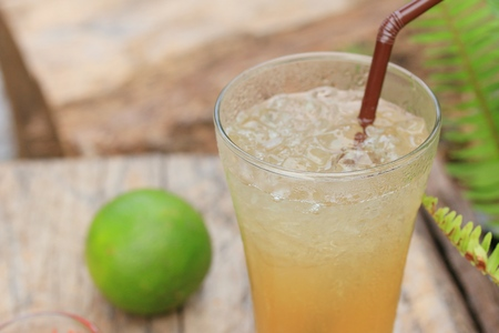 honey lime with soda