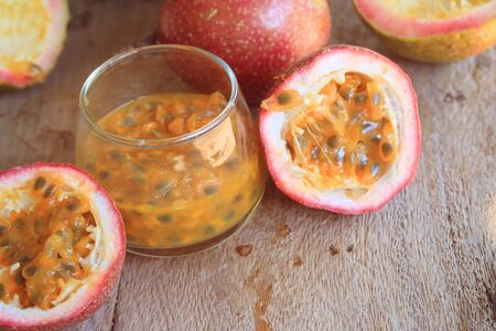 acidity: passion fruit Stock Photo
