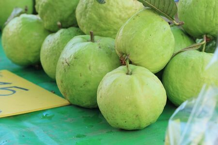guava fruit: Guava fruit at market