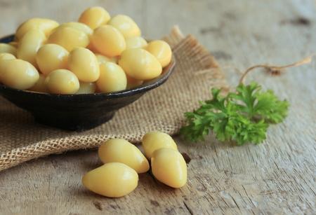 Ginkgo seeds Foto de archivo