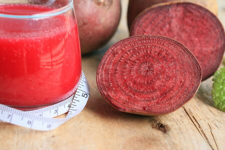 fresh beetroot and juices Stock Photo