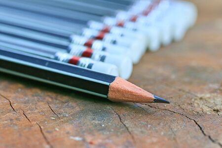 grafit: black pencils