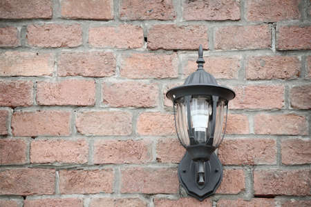 outdoor lighting: Wall lamp on vintage