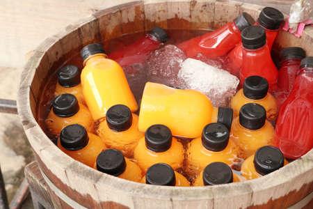 orange juice with strawberry