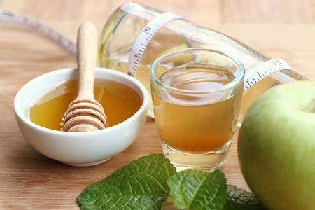 蜂蜜とリンゴ酢