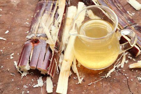 molasses: Cane juice with molasses Stock Photo