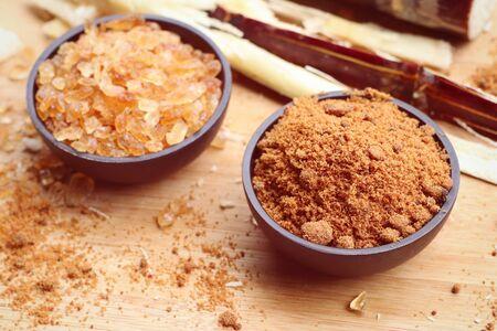 molasses: Cane sugar with molasses Stock Photo