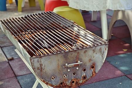 Charcoal grill Stock fotó
