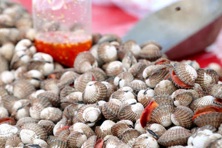 Cockles at street food