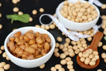 Salted soy beans