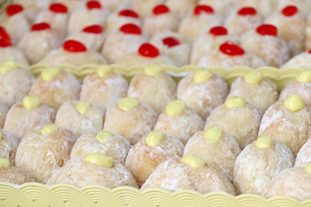 donuts at street food