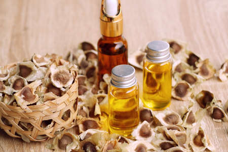 moringa oil with dried