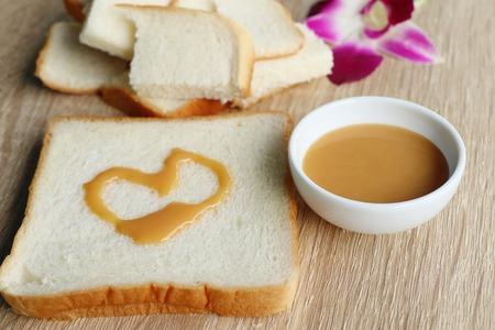 tasty slice of bread