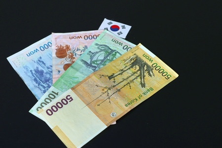 abaco: Banknote of south korea