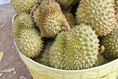 durian fruit at street food