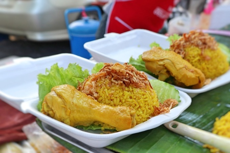 biryani rice with chicken