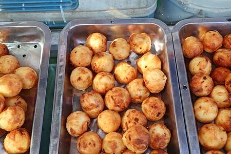 Takoyaki is Japanese snack
