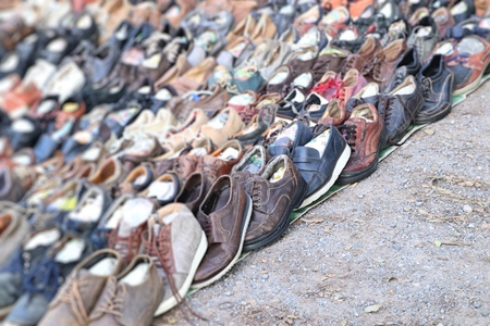 Used shoes shop sales at market