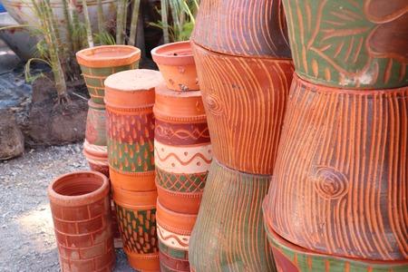 Boutique de plantes à fleurs en pot Banque d'images