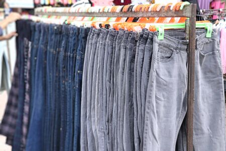 shop clothes for sales at market