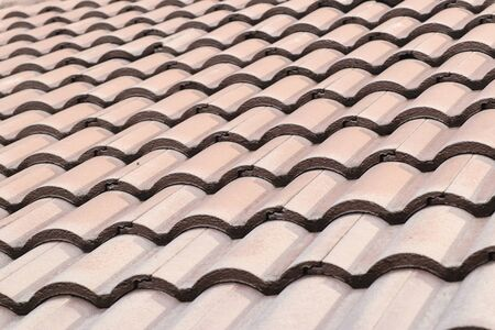 The tile roof background texture